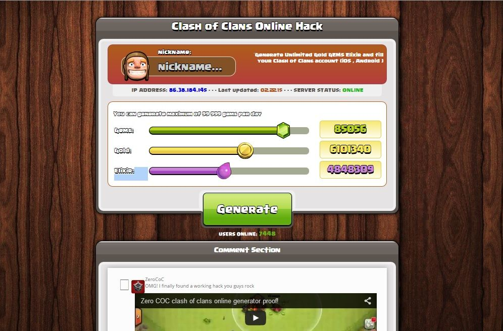 New Trick Goldencheats Net Clash Of Clans Hack Unlimited