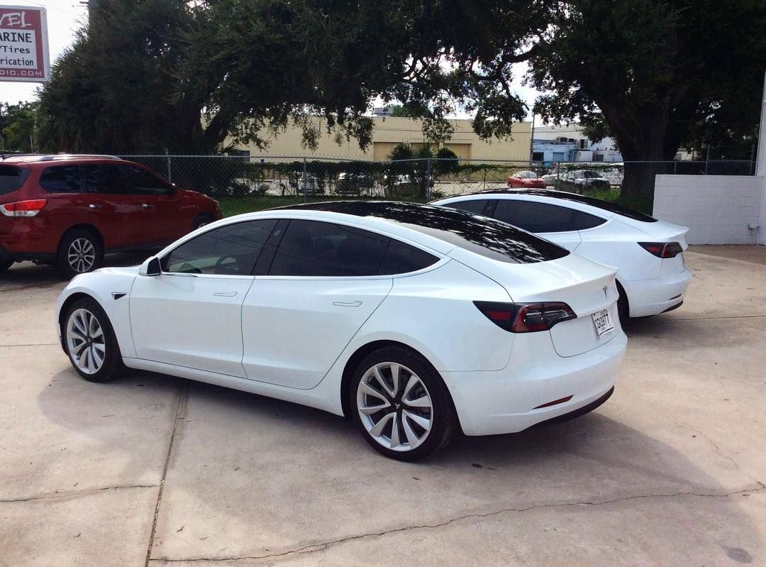 Tesla Model 3 Tinted By Ultimate Window Tinting In Orlando