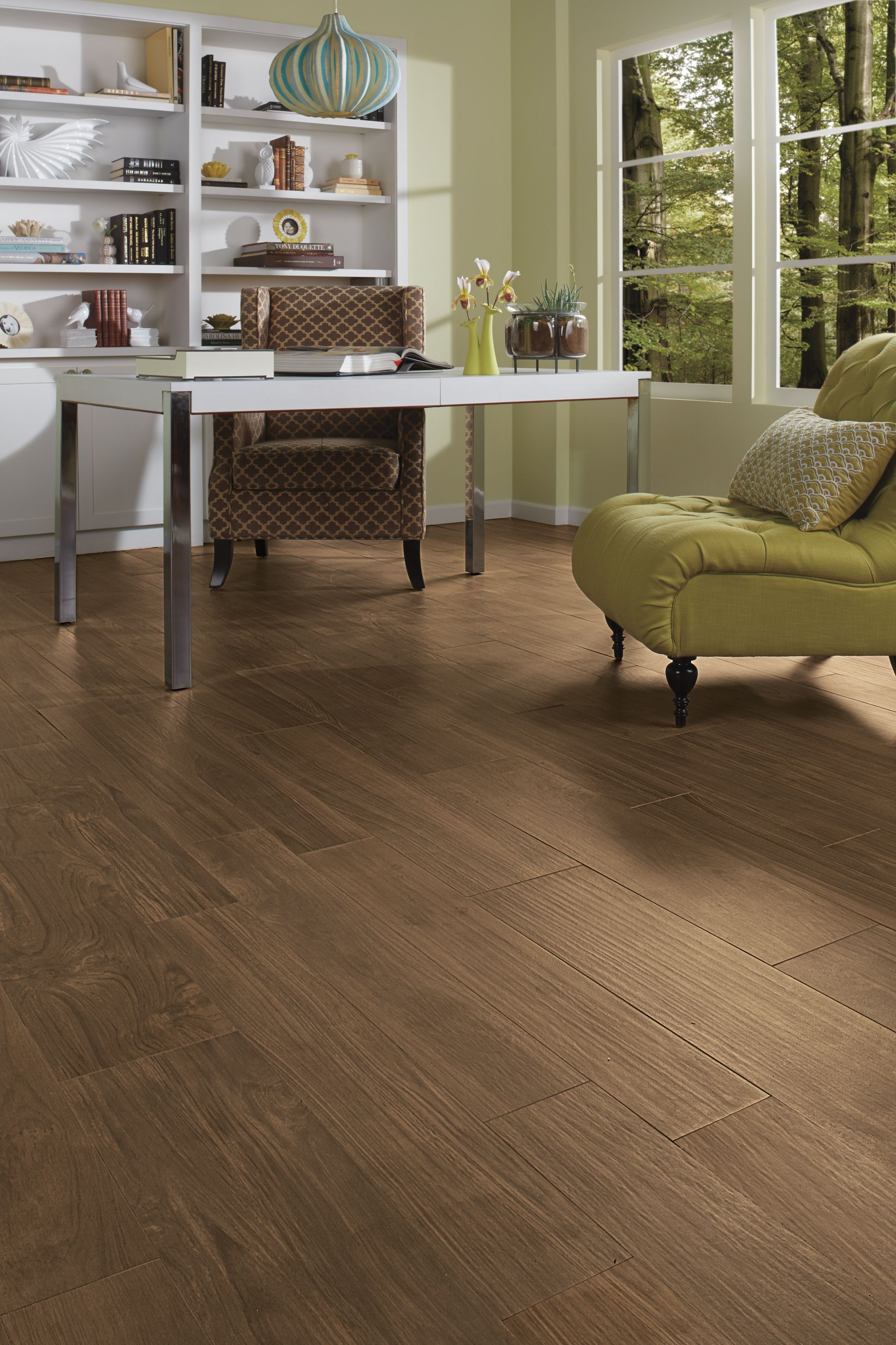 Photo Features Forest Park By Daltile In Timberland 9x36 And 6x36