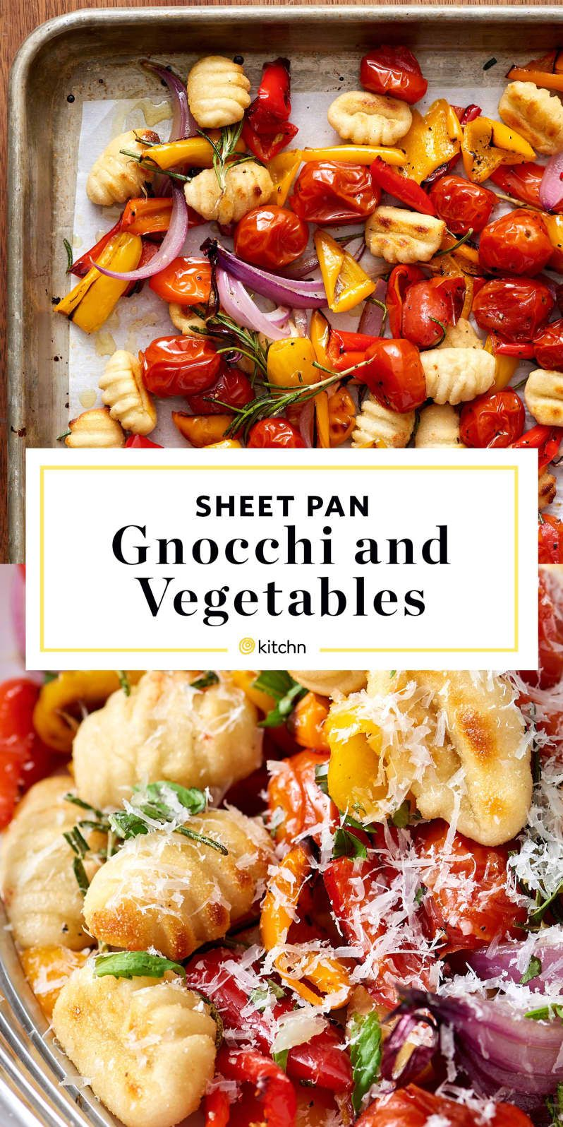 Photo of Recipe: Crispy Sheet Pan Gnocchi and Veggies