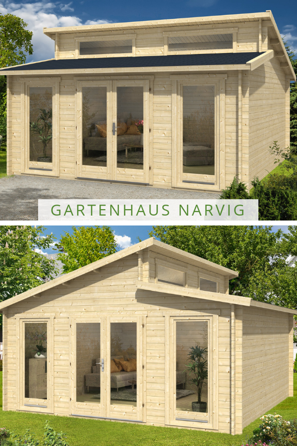 gartenhaus narvig b in 2019 gartenhaus mit pultdach. Black Bedroom Furniture Sets. Home Design Ideas