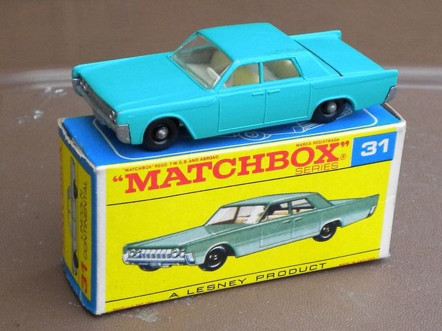 Matchbox Toys Lesney Lincoln Continental 1960 S 60s Pinterest