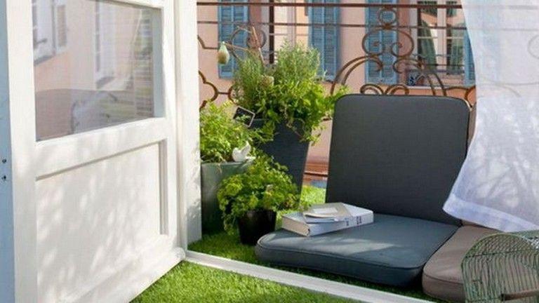 85 Good Ideas to Design Apartment Small Balcony Apartment