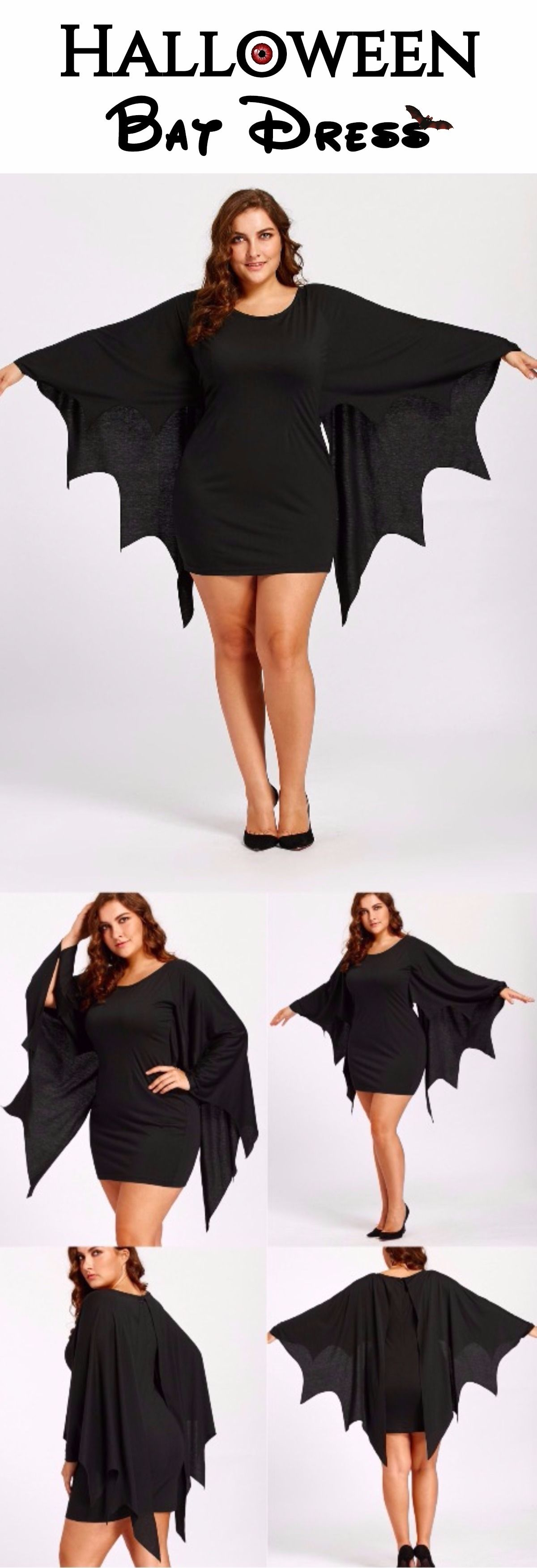Plus Size Tunic Bat Wings Dress | Patrones de costura, Patrones y Blusas
