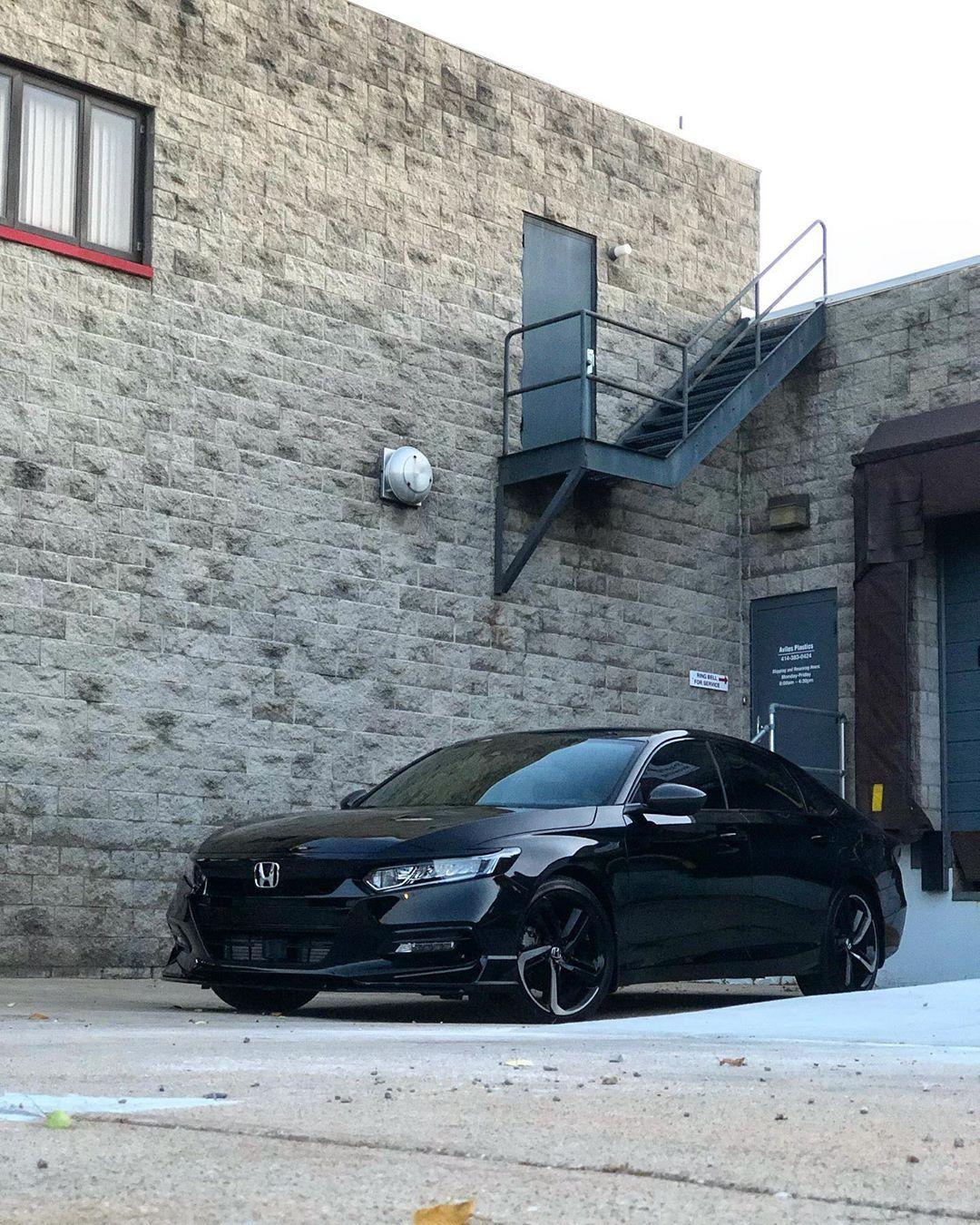 JET ️ BLACK ️SEDAN hondaaccord2018 Honda accord sport