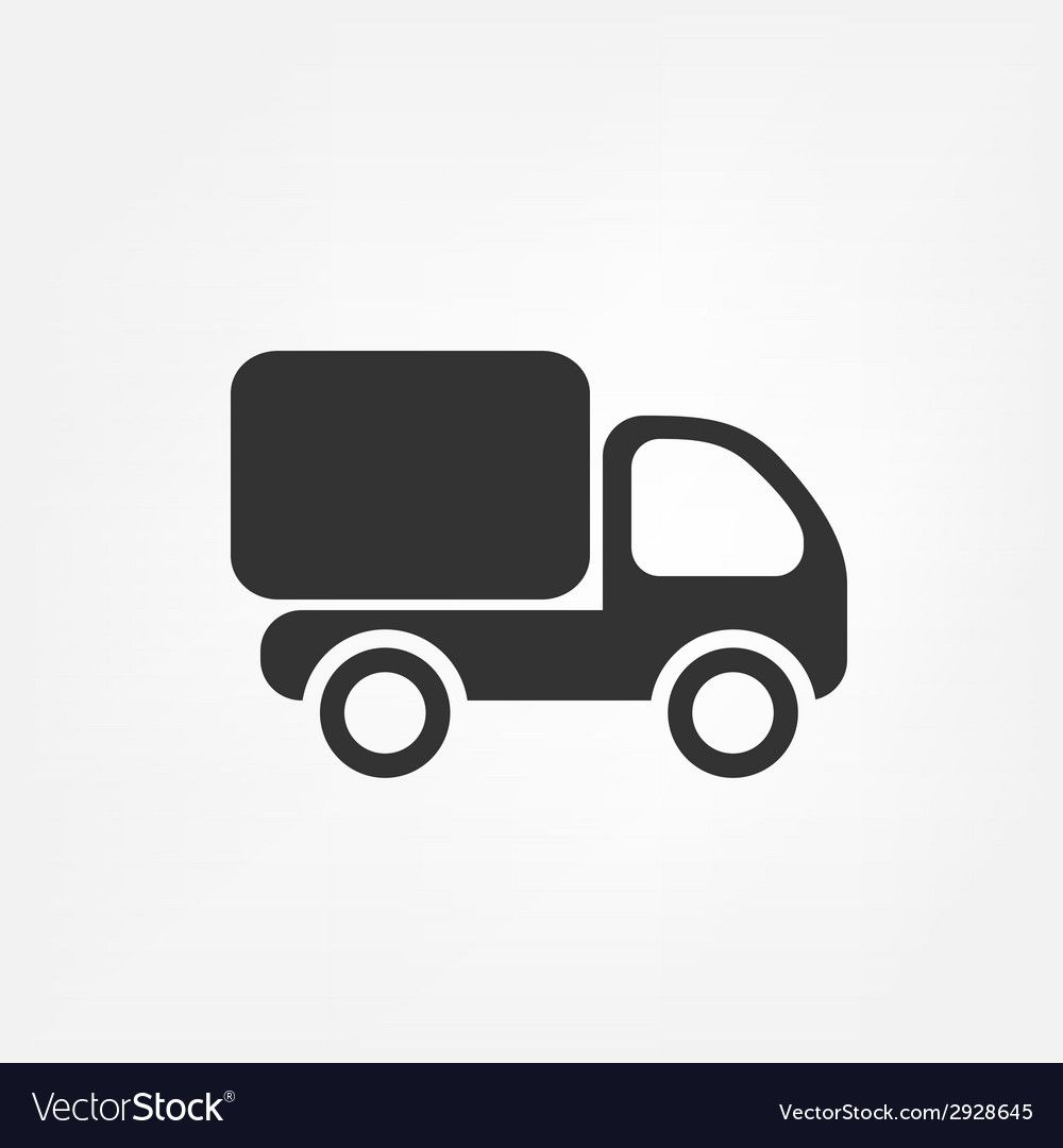 Delivery Truck Royalty Free Vector Image Vectorstock Sponsored Royalty Truck Delivery Free A Vector Free Happy New Year Vector Free Vector Images