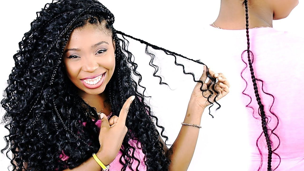 How To Goddess Box Braids Tutorial For Beginners Very Detailed Youtube Box Braids Tutorial Box Braids Hairstyles Braided Hairstyles