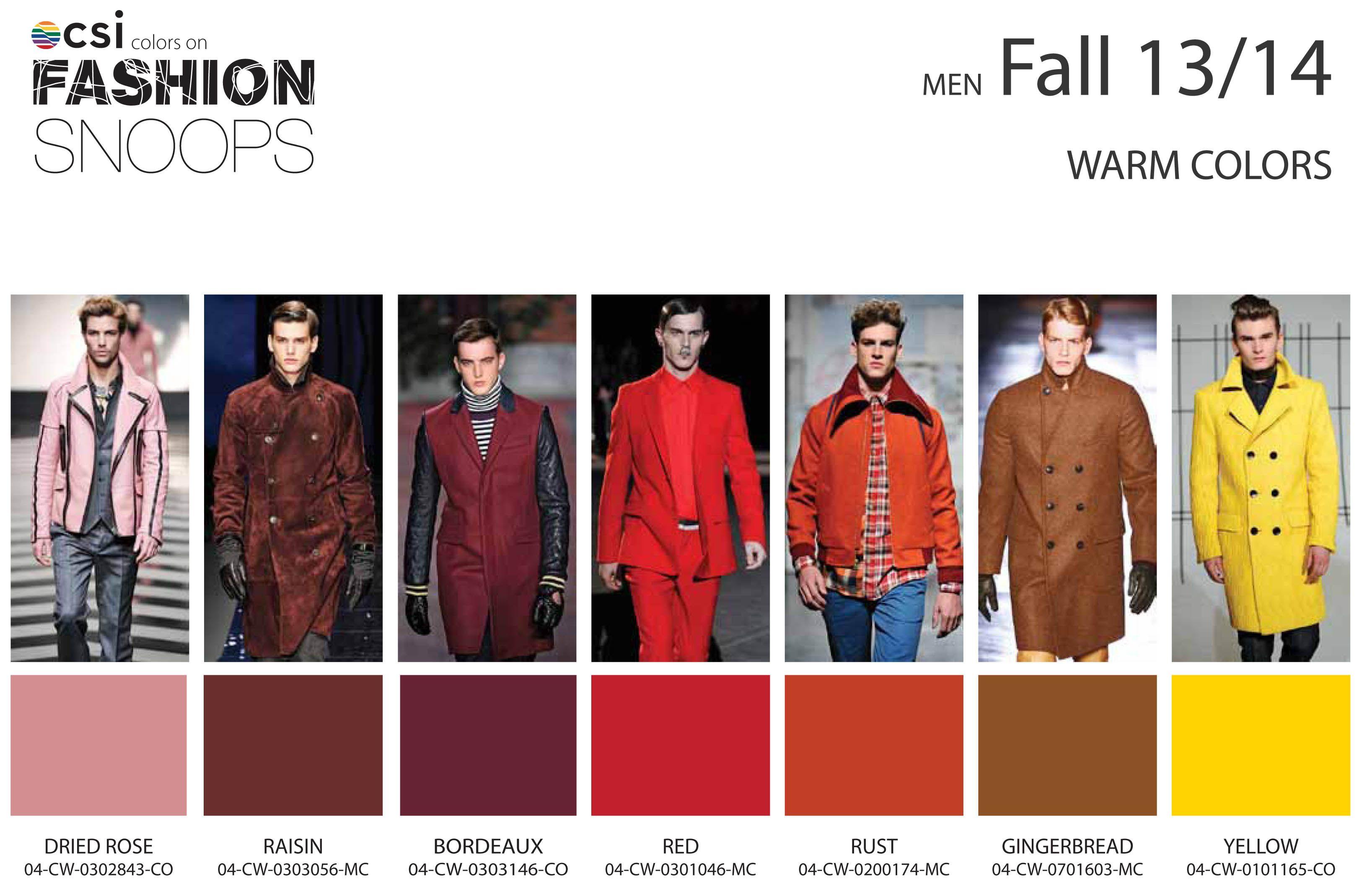 Fall/Winter 2013/2014 Runway Color Trends