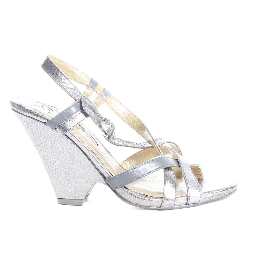 Silver Wedge Heel Wedding Shoes For More Beautiful Wedges Shoes Click Here    Https:/
