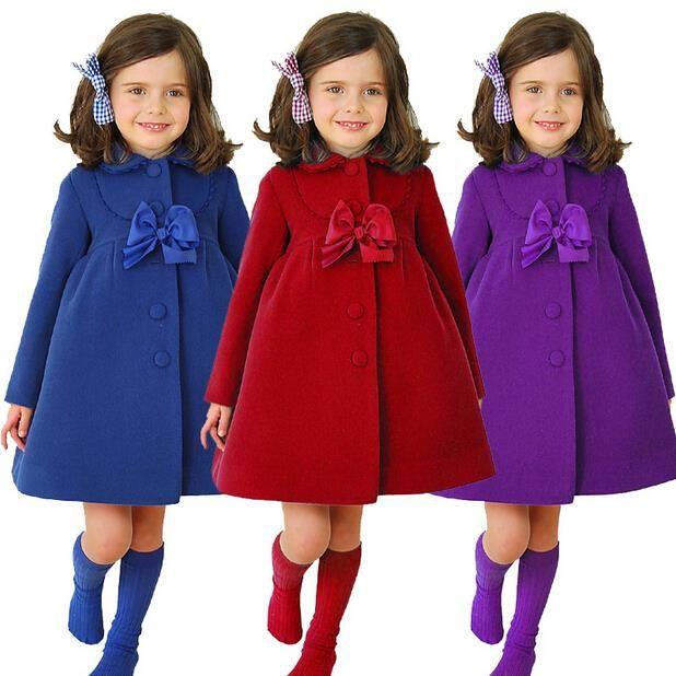 2c92c3f62 Cheap Moda chaqueta de invierno para las niñas otoño invierno de los ...