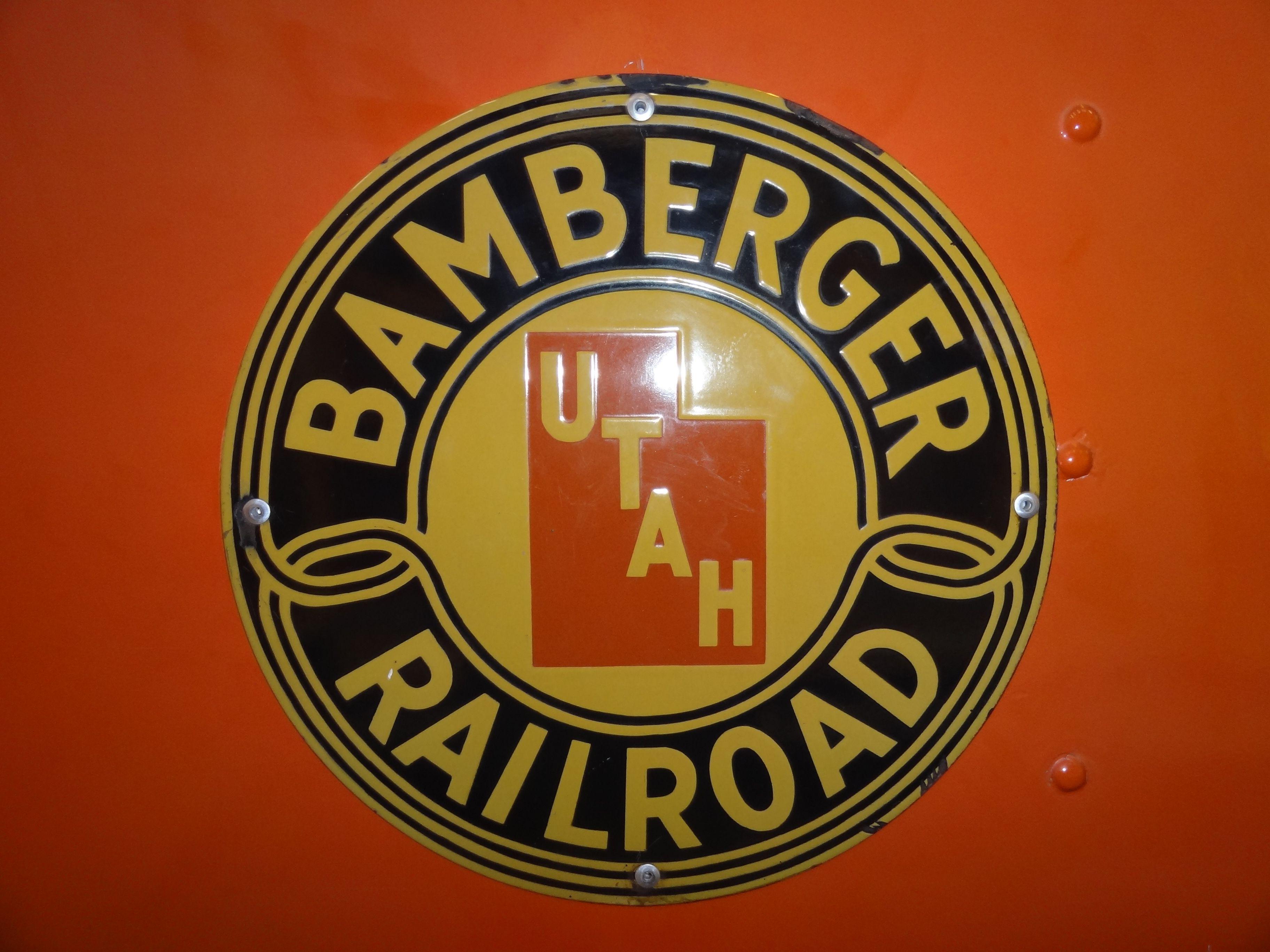 Bamberger Railroad Logo Train rides, Train posters, Railroad