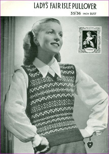 Fab40s Patternpages Ladiesfairisle Bairnswearraeag