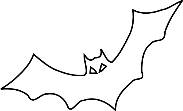 Cute Bat Coloring Page Super Hagio Graphic Bat Outline Bat Coloring Pages Free Halloween Coloring Pages