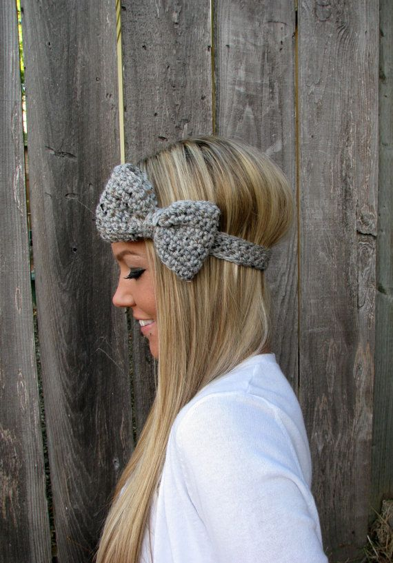 Crochet Bow Headband An Easy Free Pattern Yarn Crafts Crochet