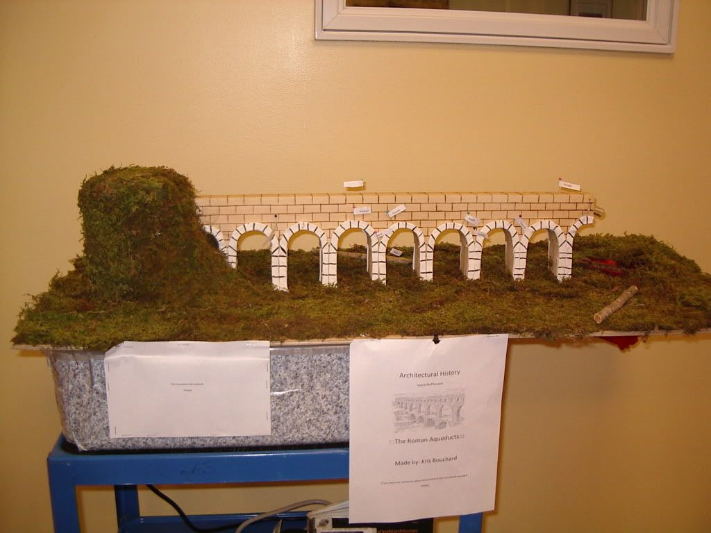 Roman Aqueducts Middle School Project
