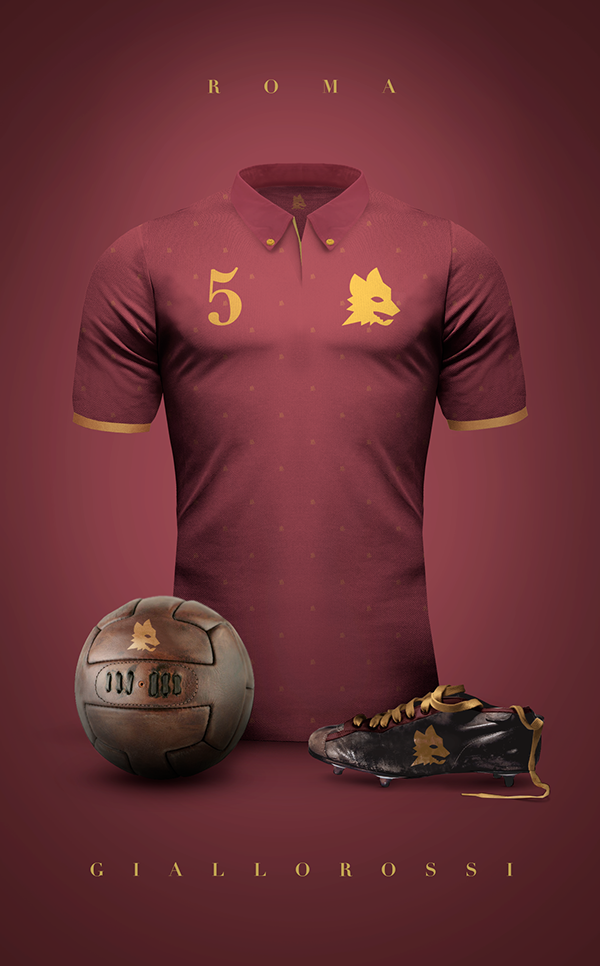 Concept Design Of Some Football Clubs In Vintage Style Part 2 Soccer Shirts Football Jerseys Soccer Kits