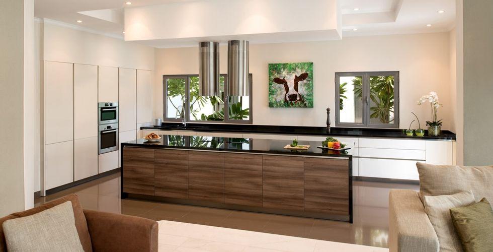 Modern Hacker German luxury kitchen in available