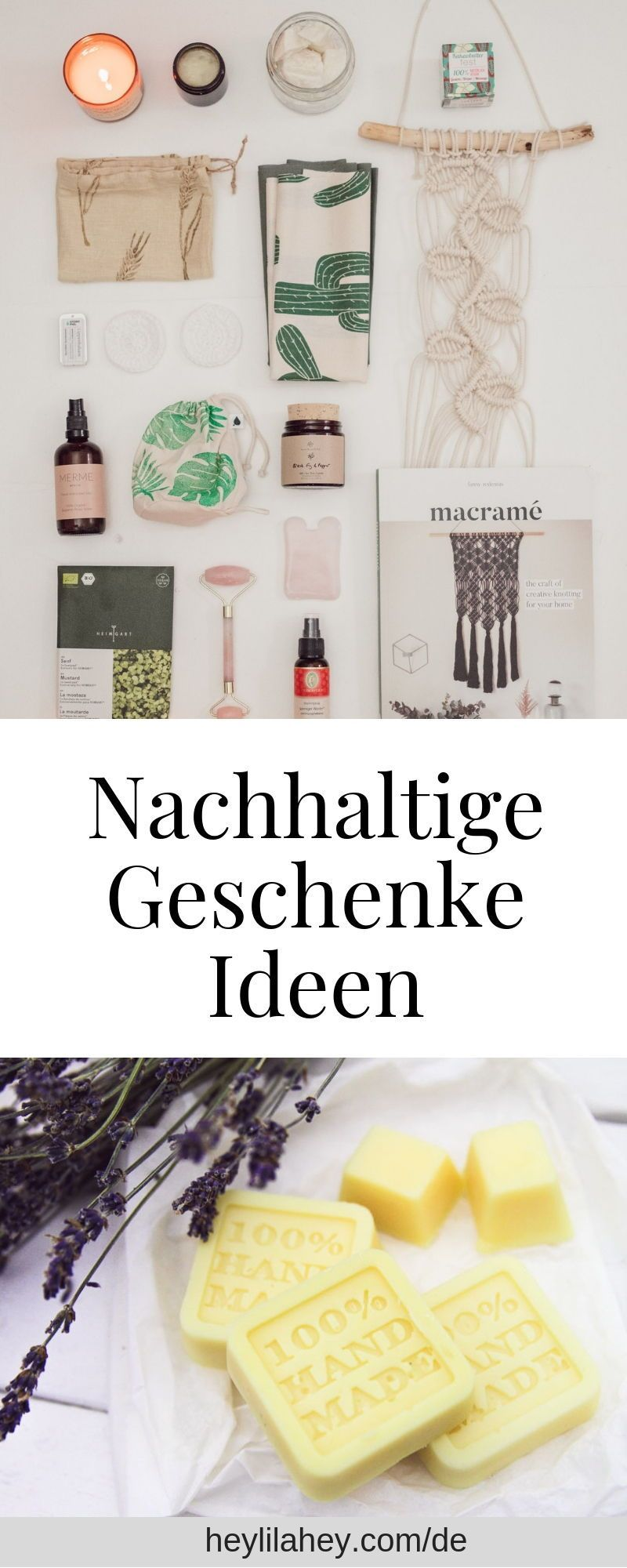Photo of Nachhaltige Geschenkideen Zero Waste, Naturkosmetik & Charity – heylilahey. – My Blog