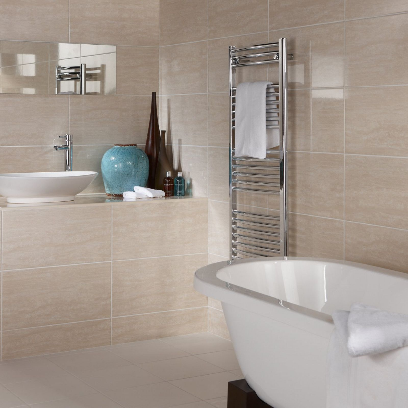British Ceramic Tile Small Bathroom Tiles Bathroom Wall Tile Cream Bathroom