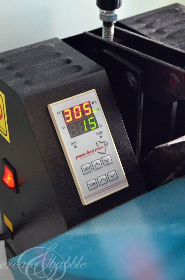 How To Use A Heat Press Heat Press Heat Press Vinyl