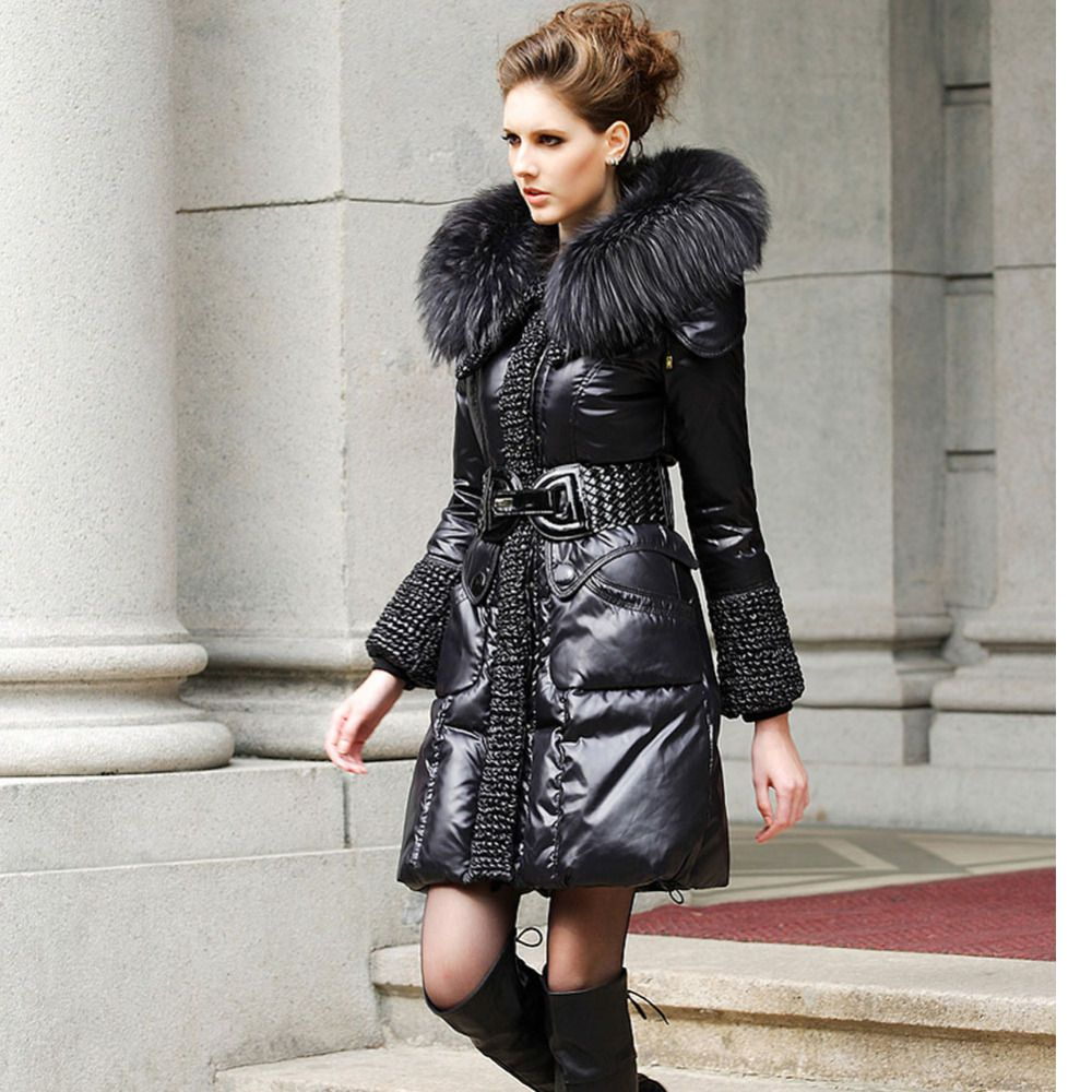 Luxury-Long-Down-Coat | Down Coat | Pinterest | Coats, Luxury and ...