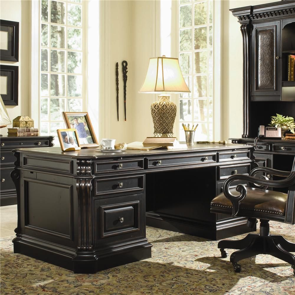 Escritorios Wood Office Desk, Home Office Furniture, Office Table, Hooker  Furniture, Home