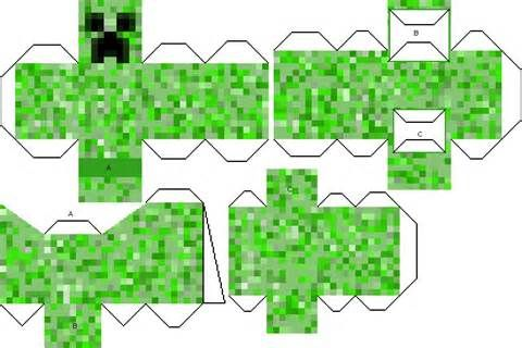 Free Mutant Creeper Coloring Pages Ninos