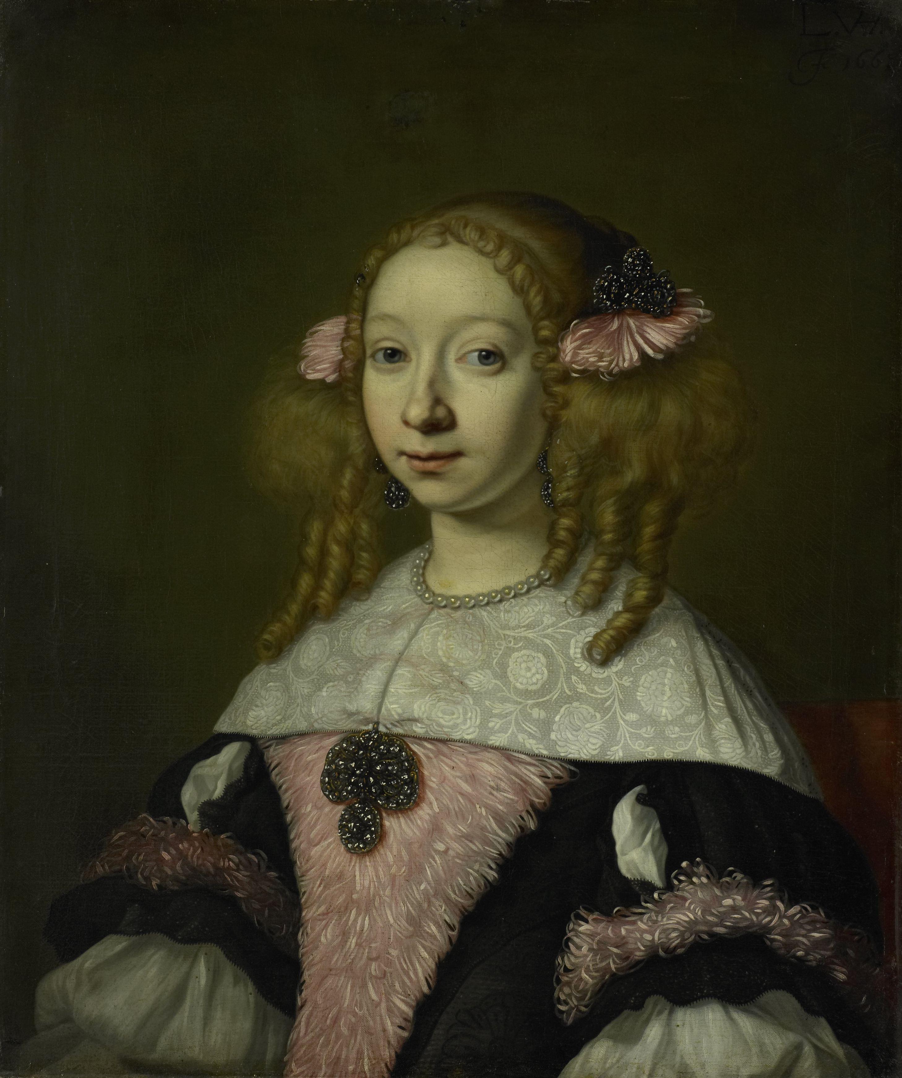 Adriana Jacobus Hinlopen, Lodewijk van der Helst, 1667