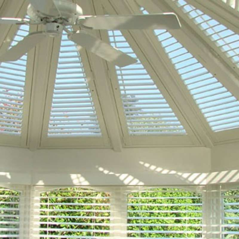 Conservatory Roof Shutter Romsey Hampshire The Great Shutter Co Conservatory Roof Shutters Window Shutters