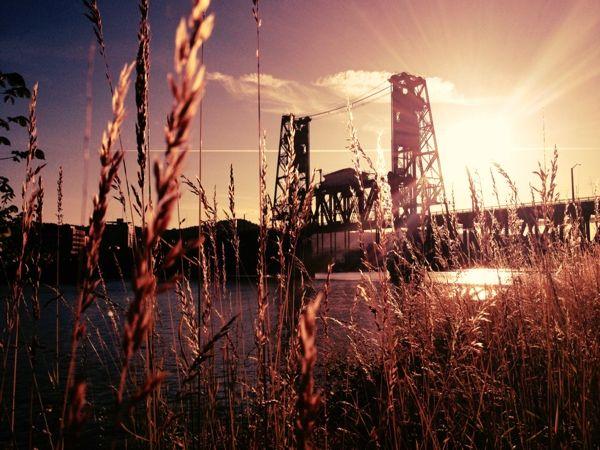 Steel bridge   Portland, OR