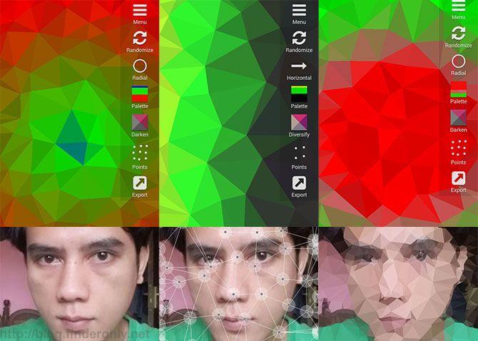 Cara Membuat Wallpaper Android Sendiri Yang Keren Android Gambar Aplikasi