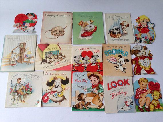 Vintage Dog Paper Ephemera Pack  Used and by TheGOOSEandTheHOUND, $4.00