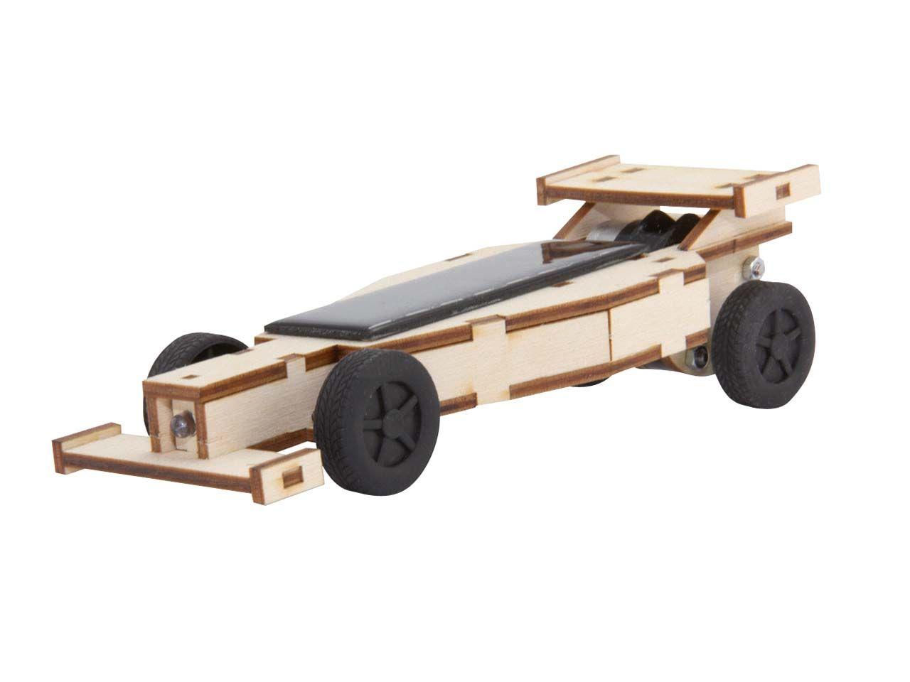 """Der SolarRennauto """"F1"""" Bausatz für viel Spaß im"""