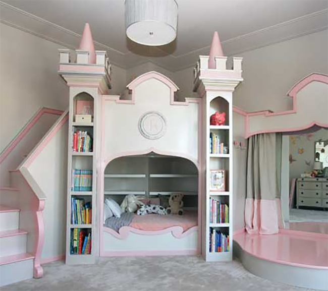 8 fanciful fairy tale beds for your little princess or for Fairy princess bedroom ideas