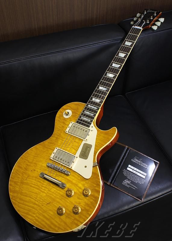 #Gibson Custom Shop US Boutique Dealer Exclusive Limited 1959 Les Paul Reissue Heavily Aged LB SN.931526