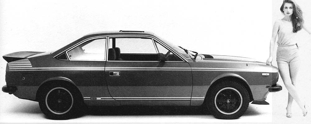 1981 Lancia Beta Hi-Fi Coupe