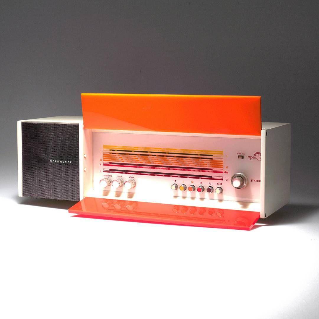 Night Liquid Retro Ltd On Instagram The Nordmende Spectra Futura 1968 A Very Simple Yet Beautiful Radio It S Go Radio Design Raymond Loewy Diy Workshop