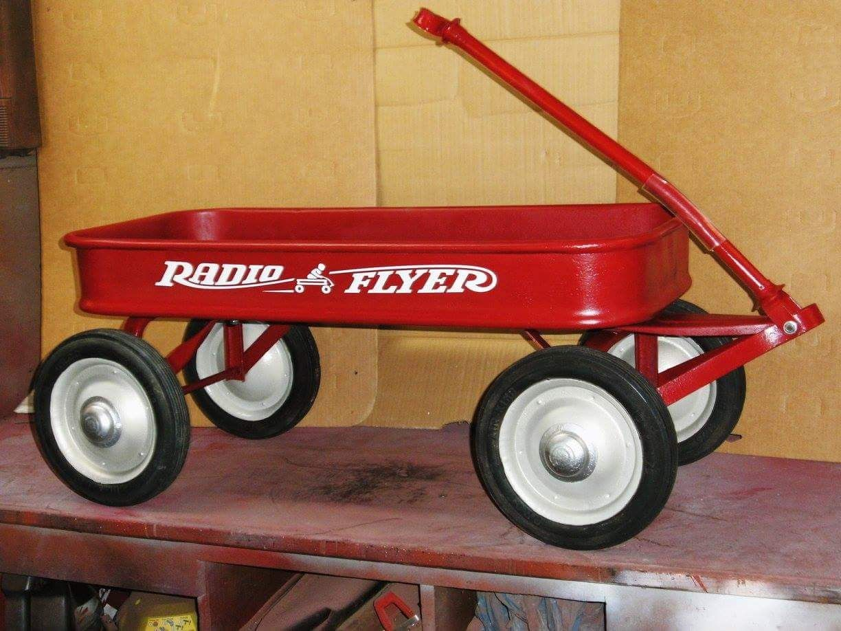 Radio flyer wagons image by Pedal Car and Toy Decals on