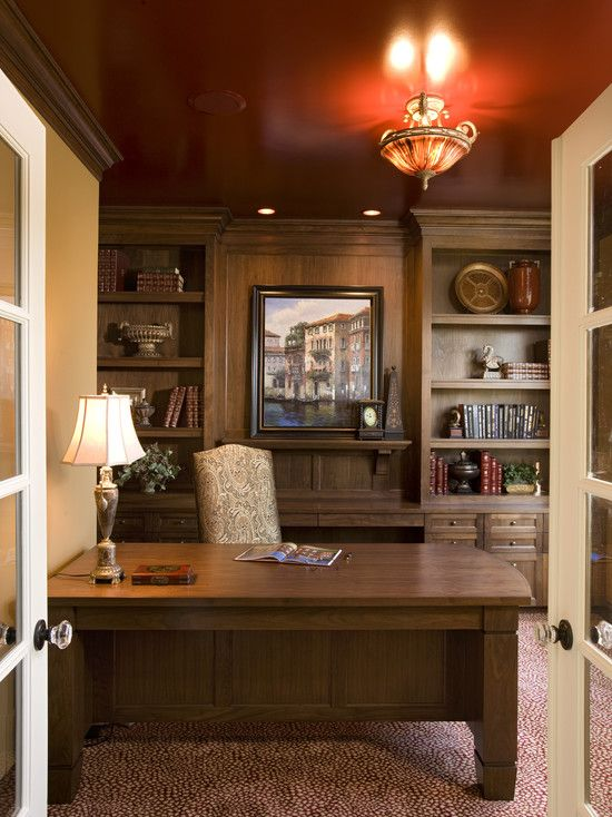 Traditional Office Ideas Design, Pictures, Remodel, Decor