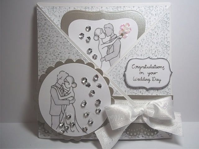 Charming Wedding Card Ideas To Make Part - 7: Tips For DIY Wedding Card Ideas To Make- Unless You Plan To Invite, Like