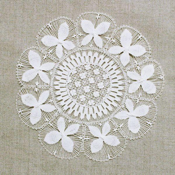 Lace Centerpiece Zinp Online Shop Con Imagenes Nanduti