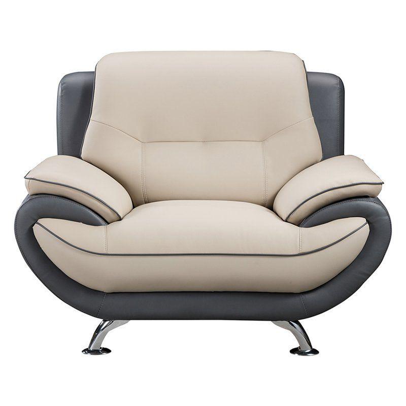 American eagle furniture highland home sofa chair beige