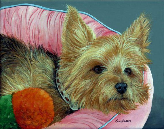 Pet Painting 4 X 6 Custom Pet Portrait Painting Of Your Dog Cat Horse Artist Sharon Lamb Pet Portraits Animal Paintings Pets