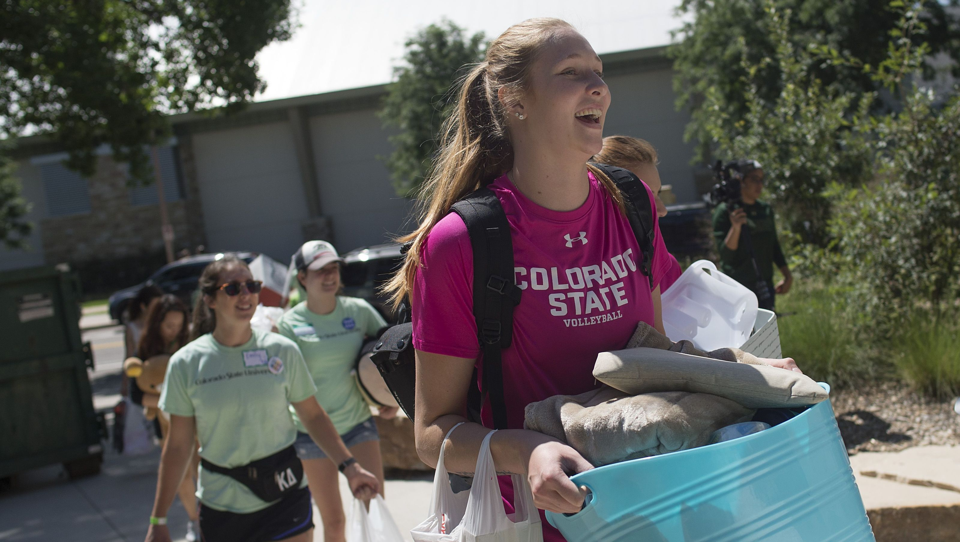 Csu Volleyball Team Grows Fan Base Through Community Outreach Volleyball Team Community Outreach Volleyball