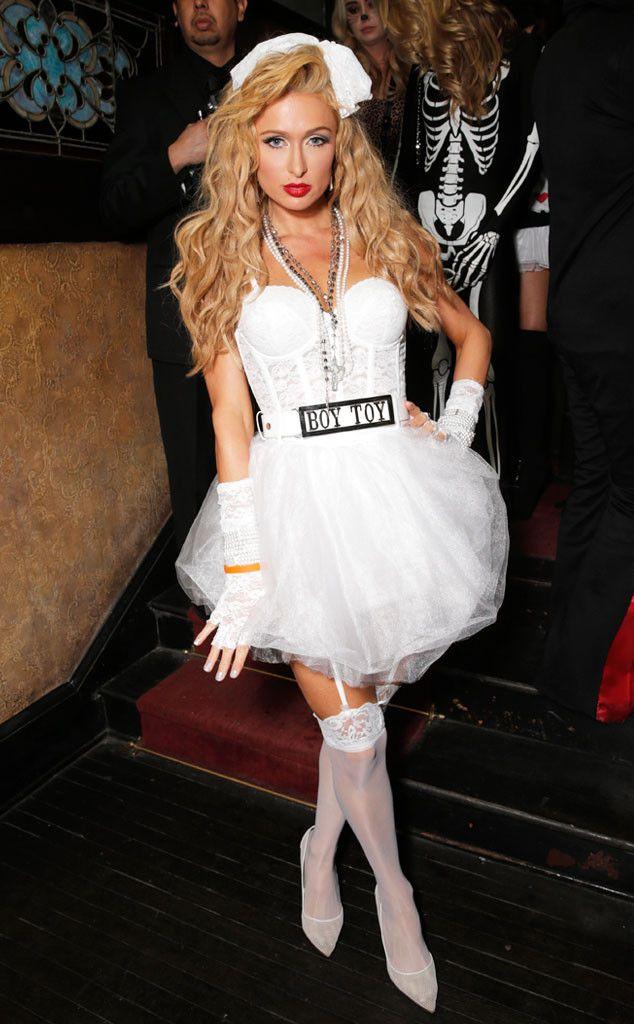 Sarah Michelle Gellar  More Stars Dressed as Madonna Hoco - madonna halloween costume ideas