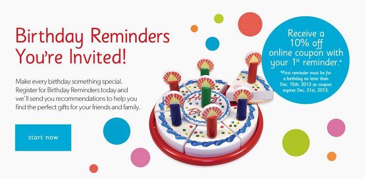 Pink Birthday Invitation Reminder Sms