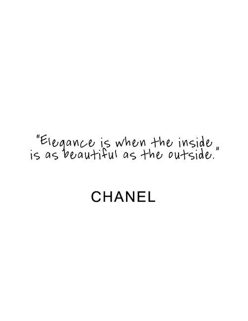 elegance Chanel / quote Paint for bathroom or my closet
