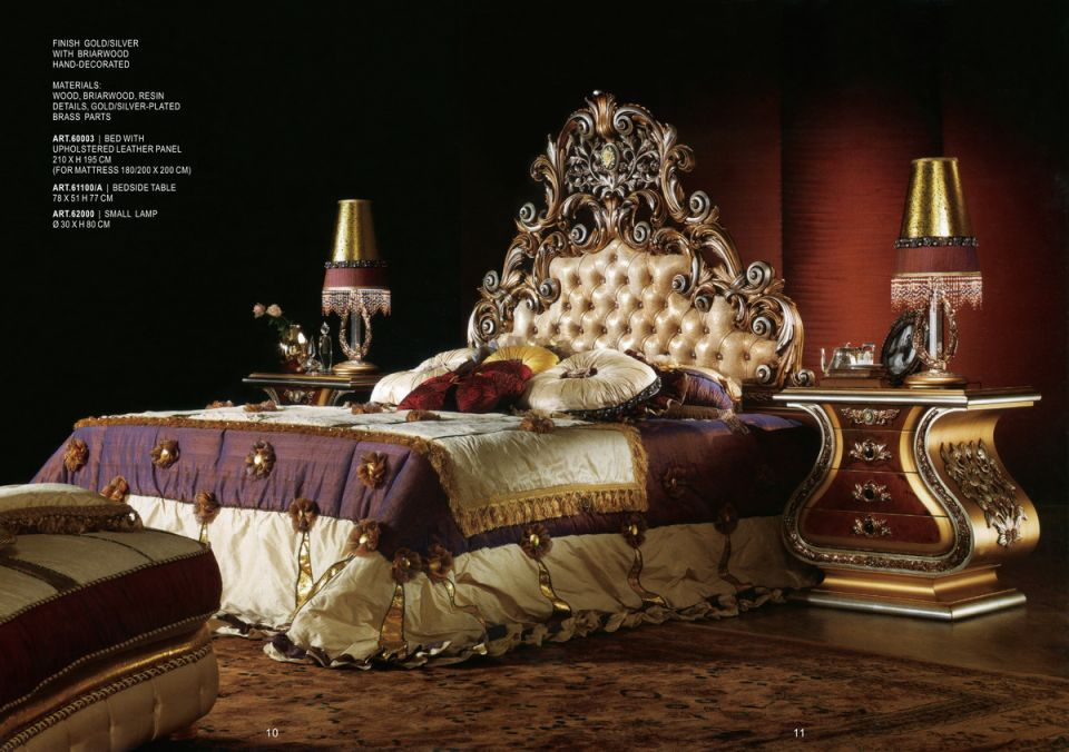bedroom decors from italy