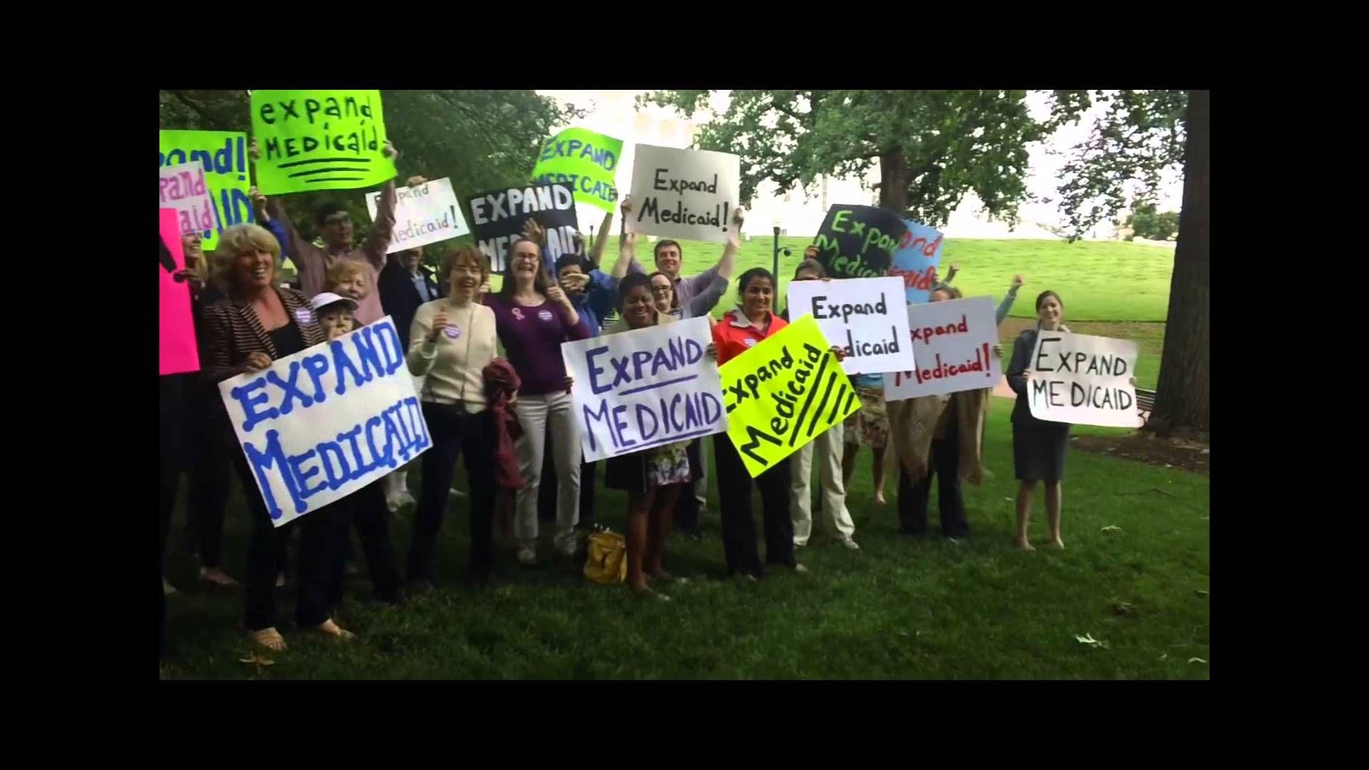 Expand Medicaid! Medicaid, Expand, Blue waves