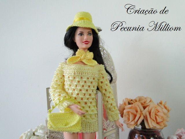 Crochet clothes for Barbie - Video: Barbie Sunbeam - For Pecunia ...